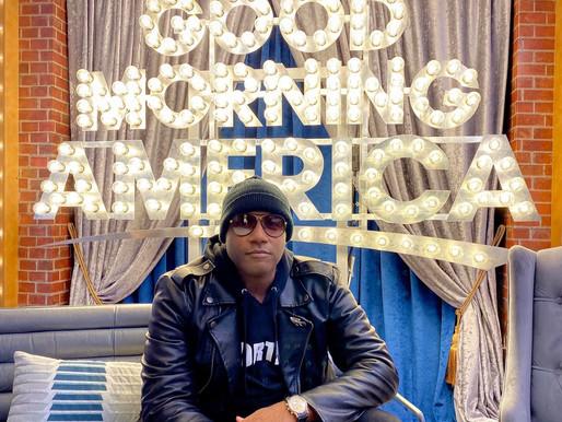 Grammy-Nominated Gene Moore Visits Good Morning America