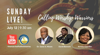 Calling All Worship Warriors for Online Church Fellowship