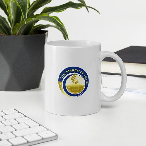 The March of Faith Logo Mug