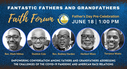 Father's Day Weekend Emphasizes Home and Community Leadership