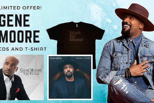 Gene Moore CDs & Shirt Offer