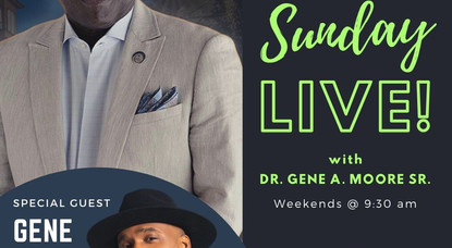 Gene Moore Is Special Guest on This Week's Sunday Live!