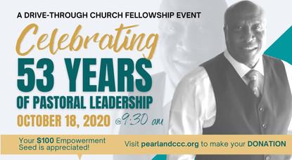 Dr. Gene Moore Celebrates 53 Years of Pastoral Leadership