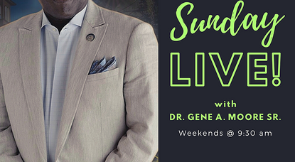 Sunday Live! Airs May 17 on The March of Faith Ministries YouTube Channel