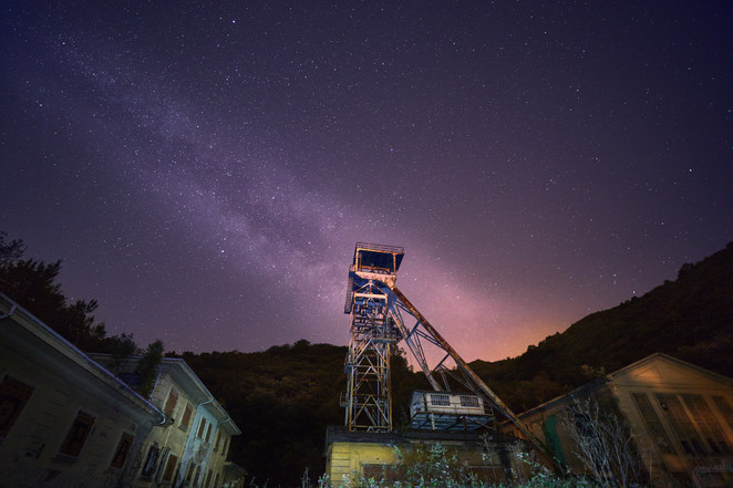 Vía Láctea Pozo San José