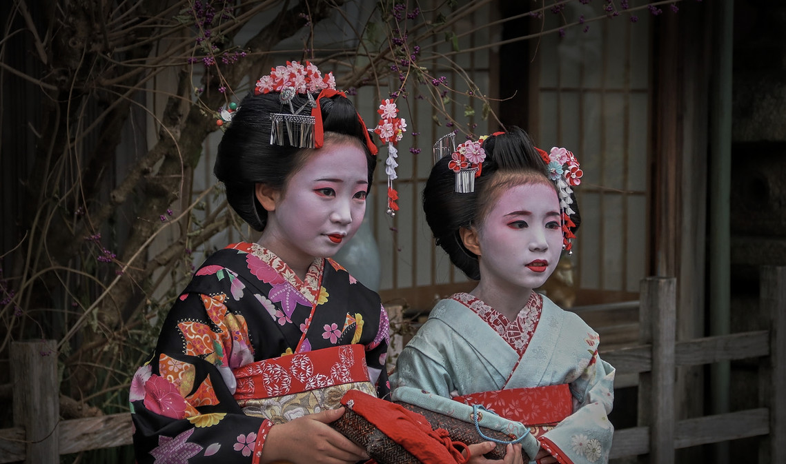 Maikos o Mini Geishas