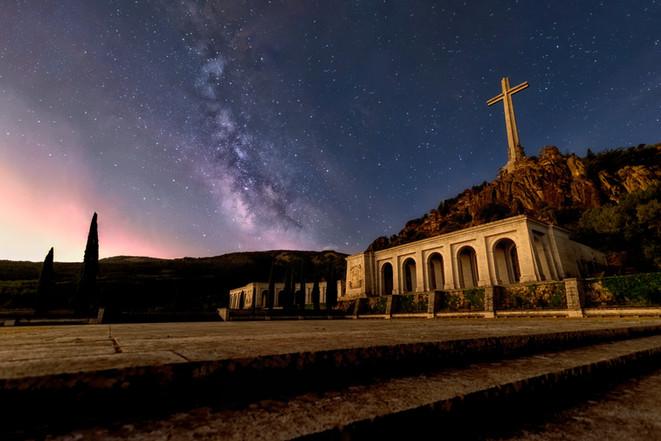Vía Láctea Valle de los Caídos