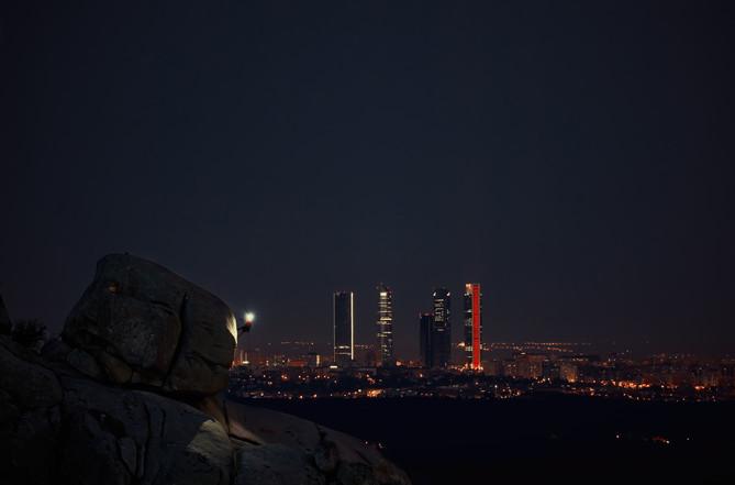 Escalando la noche de Madrid