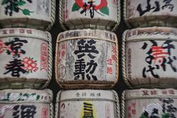 Toneles de sake