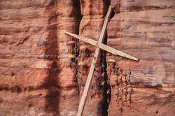 Cruz en Petra