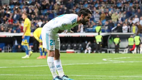 Isco celebración de gol