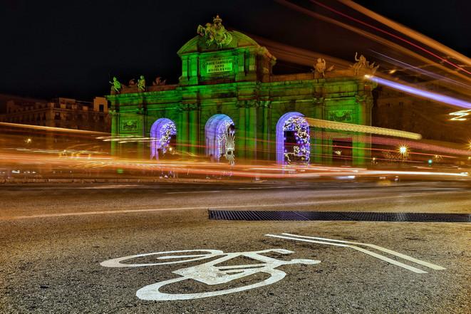 Puerta de Alcalá en la cumbre de clima 2019
