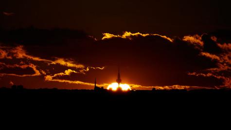 Piruli con Sol y nubes. Madrid