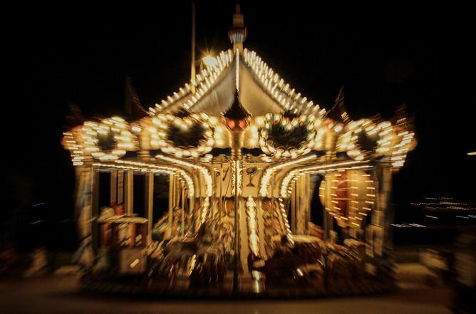 Carrusel nocturno