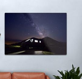 Van life Milky way