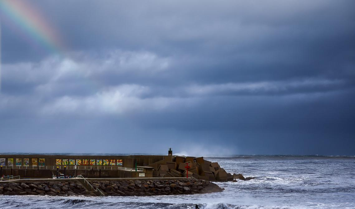 Surfeando el temporal