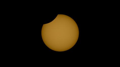 Eclipse Solar Parcial Junio 2021
