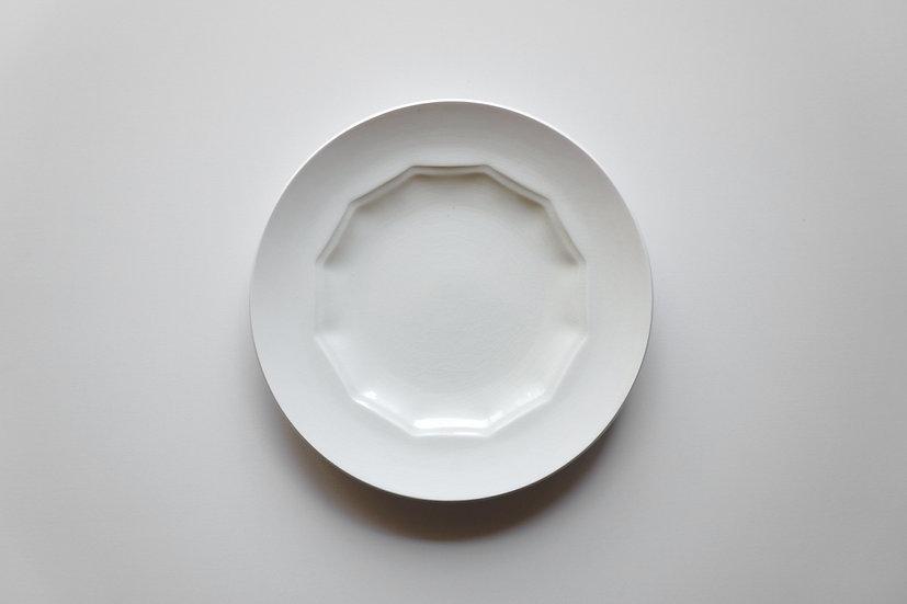 Dodecagonal Dish / Creil et Montereau / 1890-1930 FRANCE