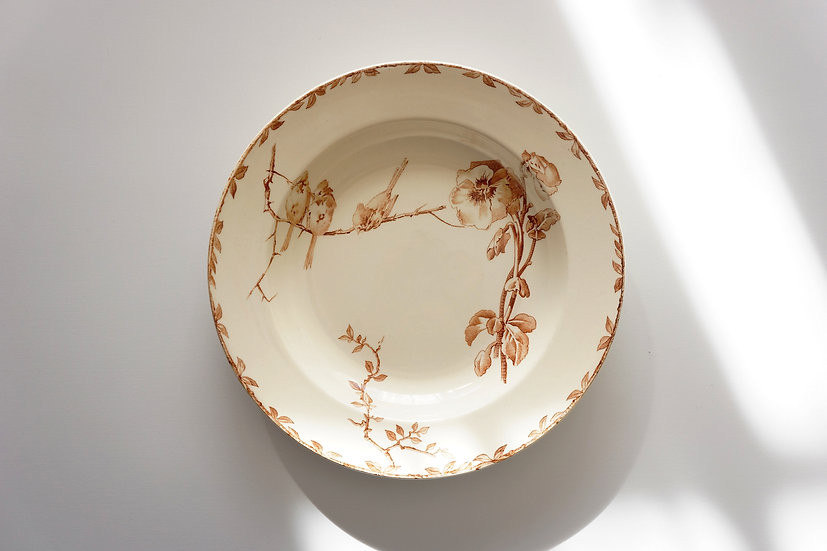 Deep Plate / HB & Cie Choisy le Roi / -1890 FRANCE