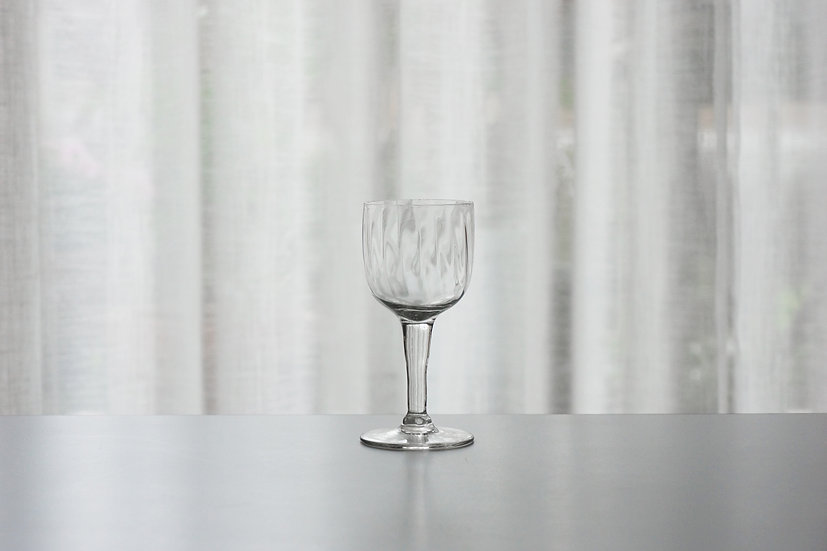 Liqueur Swirl Glass / 1800s FRANCE