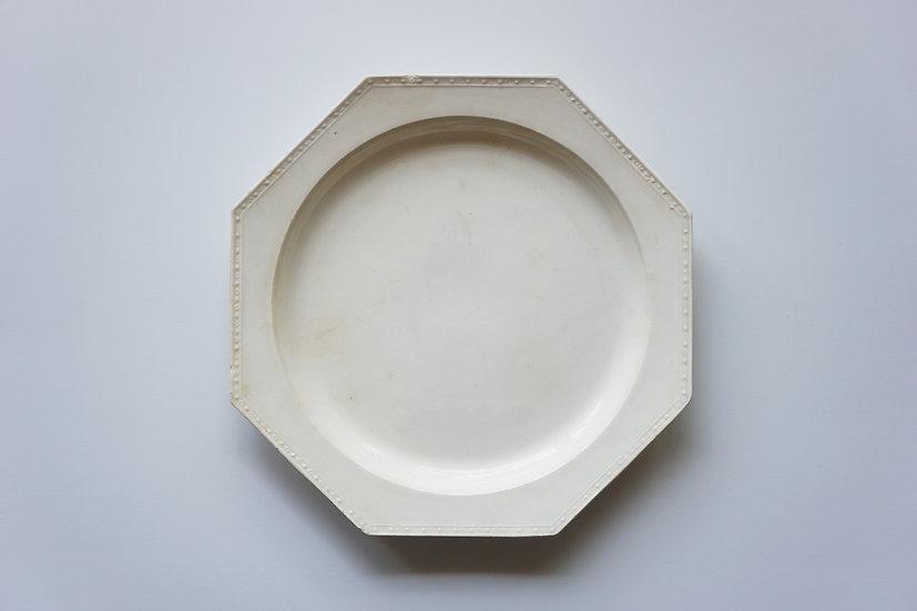 Octagonal Plate / Creil / -1820 FRANCE