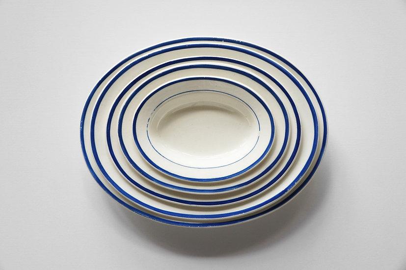 Creamware Toy Oval Dish / WEDGWOOD / -1840s ENGLAND