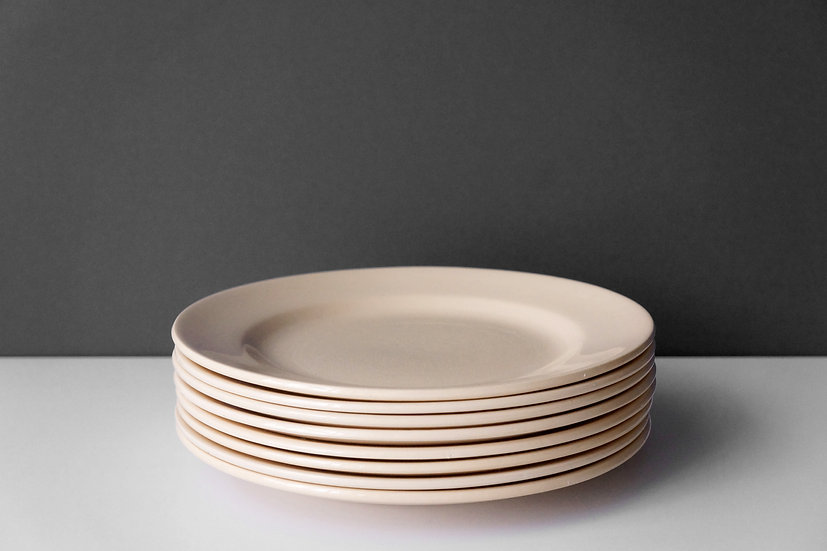 Dessert Dish / Digoin & Sarreguemines / 1920-50 FRANCE