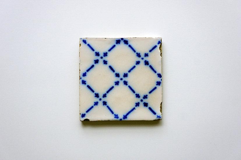 Tile / Faïence de Desvres / 1800s FRANCE