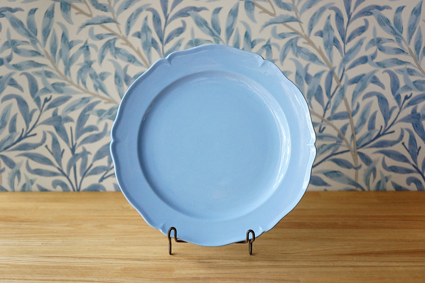 Flower Rim Dish / Creil et Montereau [1]