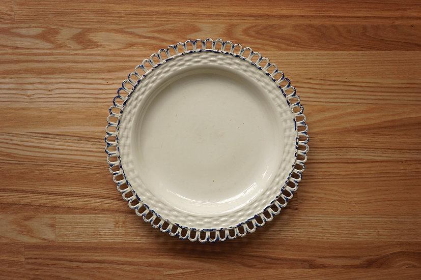 Plate / Creamware / Leeds Pottery [1]
