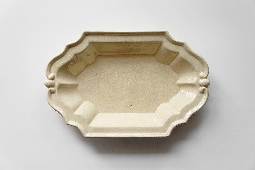 Terracotta Plate / 1800s FRANCE