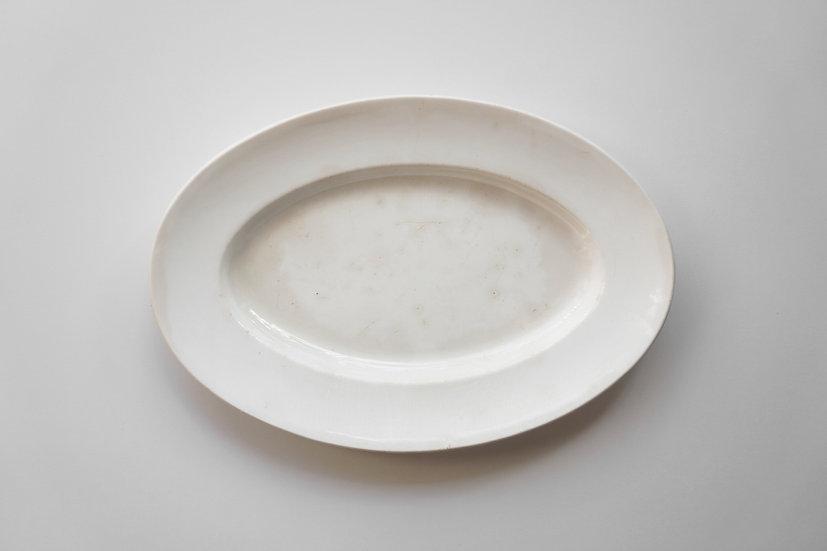 Oval Plate / J. Vieillard & Cie Bordeaux / 1845-95 FRANCE
