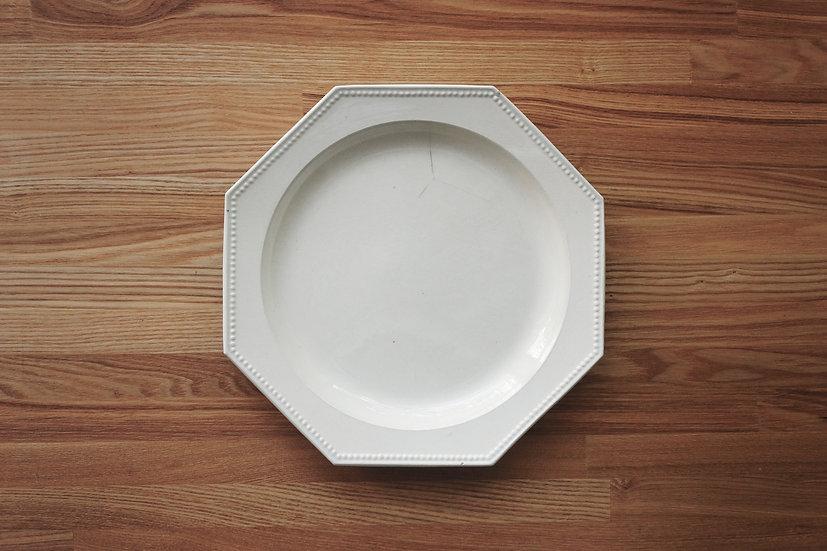 Octagonal Plate / Montereau / 25cm [1]