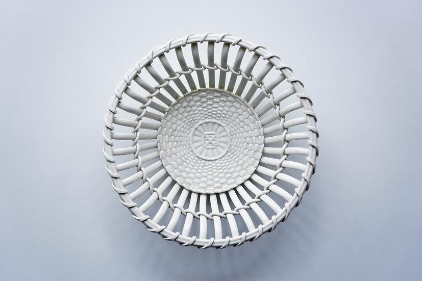 Creamware Basket / WEDGWOOD / -1820 ENGLAND