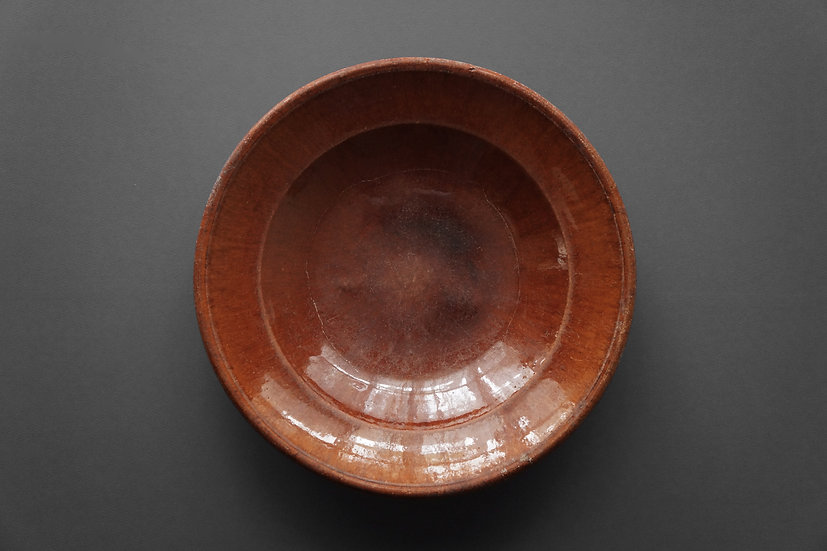 Salad Bowl / Giroussens or Auvillar / 1800s FRANCE