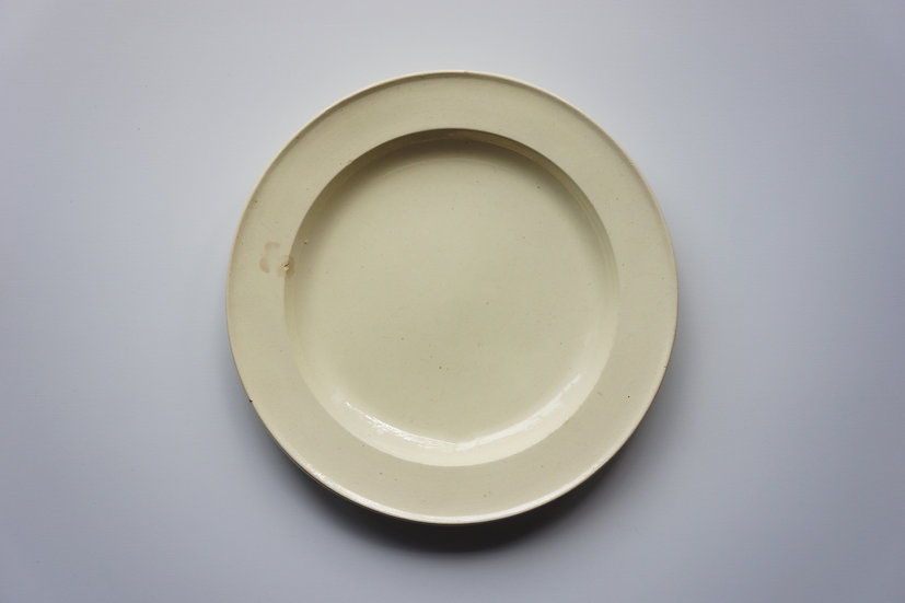 Round Plate /  Mathieu & Co / -1820 FRANCE