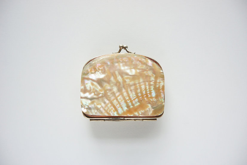 Mother of Pearl Wallet / -1920 FRANCE