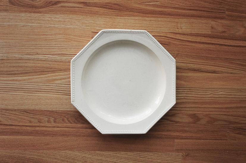 Octagonal Plate / Montereau / 22.2cm [1]