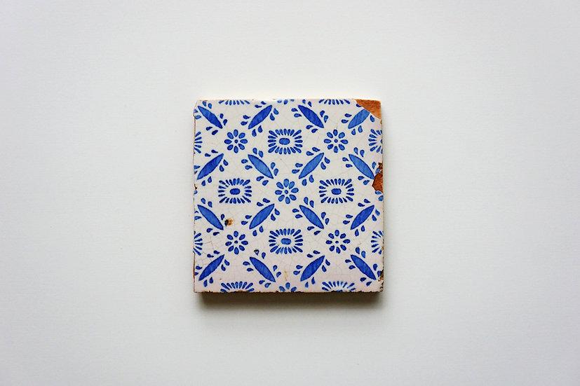 Tile / Faïence Ponchon / 1800s FRANCE