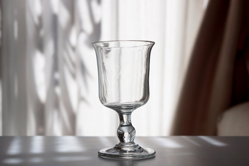 Tulip Bistrot Glass / 1800s FRANCE