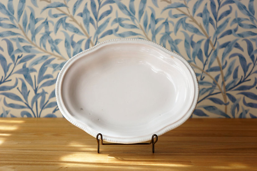 Oval Dish / Moustier