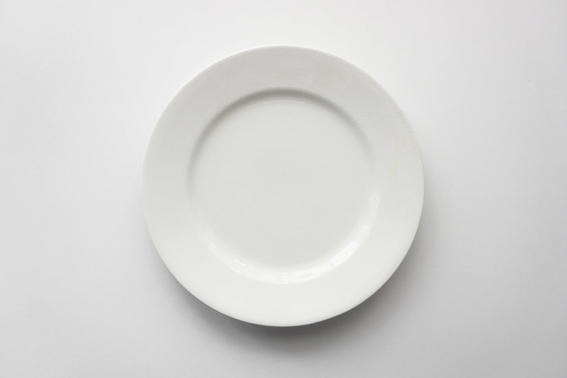 Dinner Plate / Longwy / 1897 FRANCE