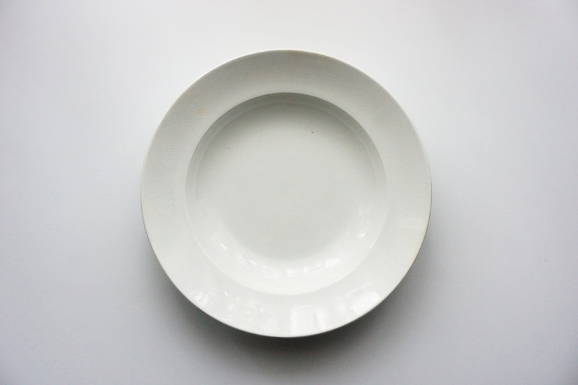 Deep Plate / Sarreguemines U&C / 1890-1910 FRANCE