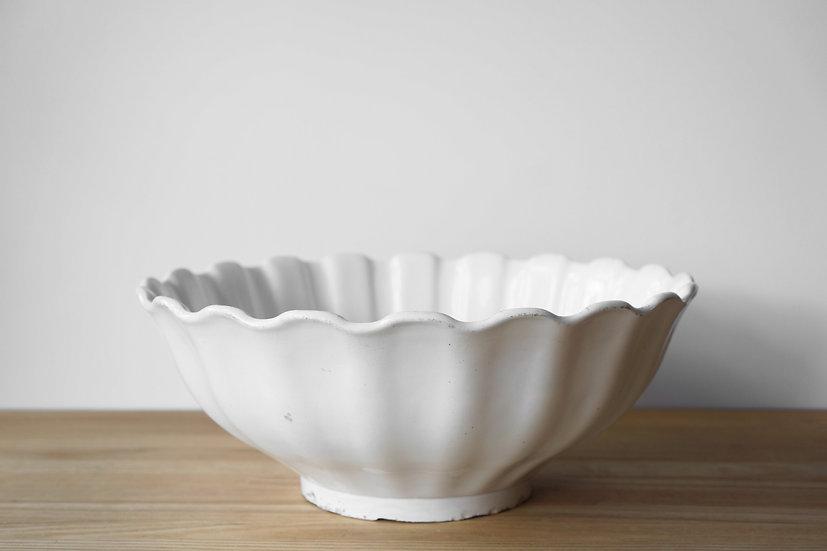 Large Bowl / Gien G.G. & Cie / 1860-71 FRANCE