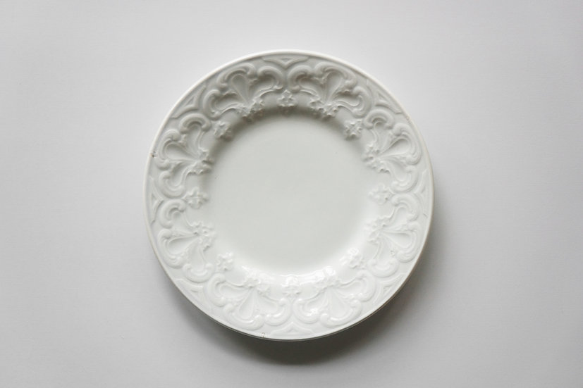 Side Plate / Creil et Montereau / 1876 - 1884 FRANCE