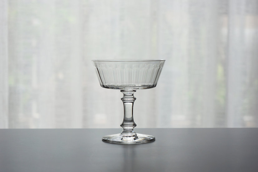"Champagne Glasses / Baccarat ""Chicago"" / - Early1900 FRANCE"