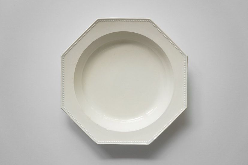 Octagonal Deep Dish / Paillart & Hautin Choisy / 1815-30 FRANCE