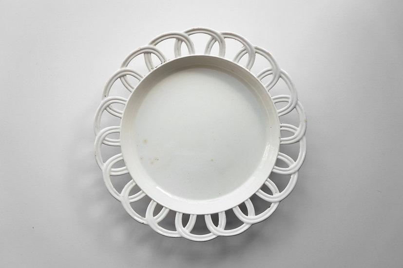 Rare Faience Fine Plate / Creil / -1820 FRANCE
