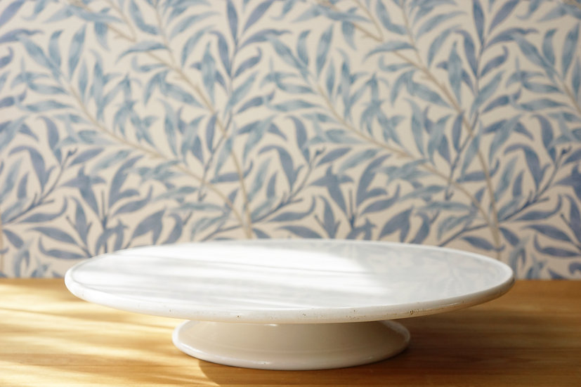 Large Stand Plate / Villeroy & Boch / 1874-1909 GERMANY