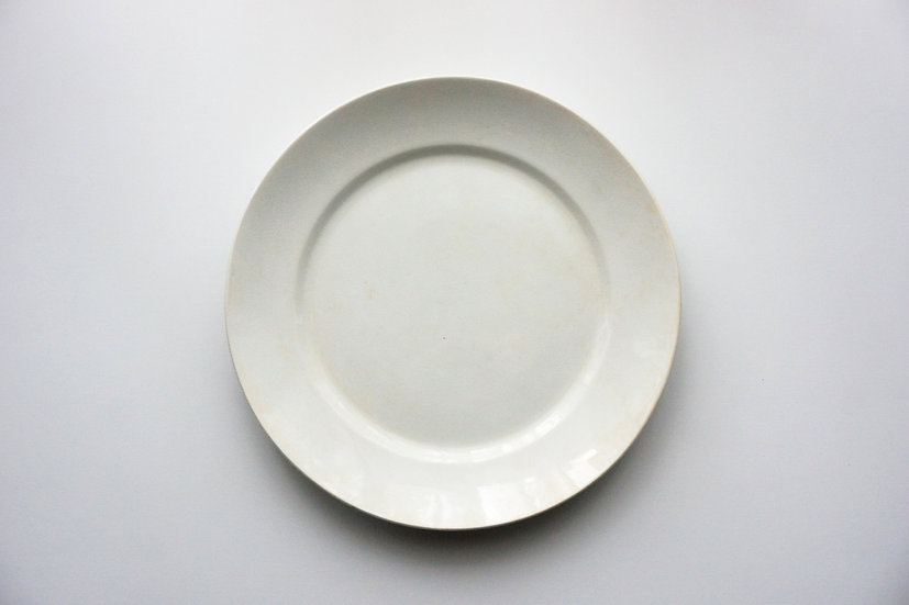 Plate / Sarreguemines U&C / 1890-1910 FRANCE